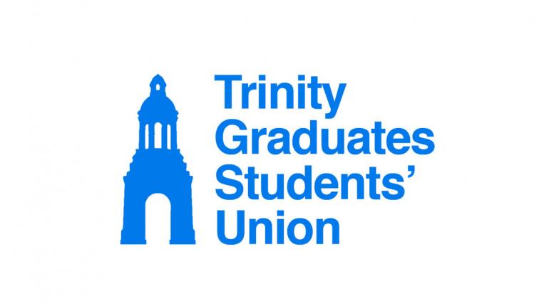 The logo of Trinity Graduate Students' Union (GSU).